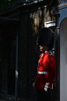 Guard, London, England